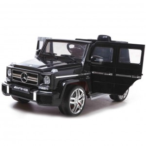 Детский электромобиль Harleybella Mercedes-Benz G63 Luxury 2.4GHz Black фото