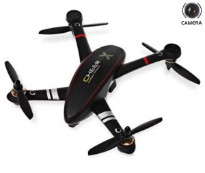 Радиоуправляемый квадрокоптер Cheerson CX-23 Cheer Brushless RTF Black 5.8G FPV 2MP Camera GPS фото