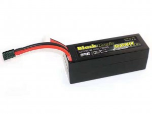 Аккумулятор Black Magic LiPo 14.8V 4S 35C 5000mAh (Hardcase w/Traxxas Plug) фото