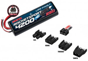 Аккумулятор Team Orion Rocket Sport LiPo 7.4V 2S 25С 4200 mAh (Tamiya,Deans,TRAXXAS,EC3) фото