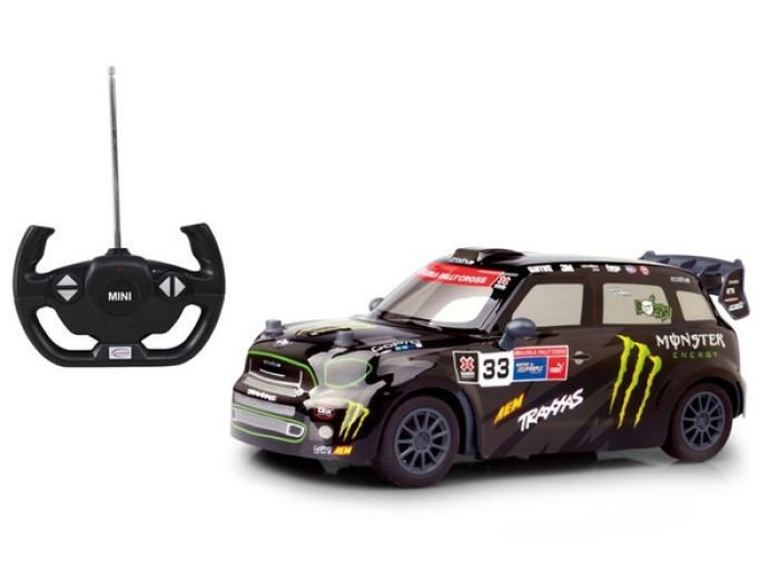 Машина р/у Mini Countryman JCW RX (на бат.), 1:14 фото