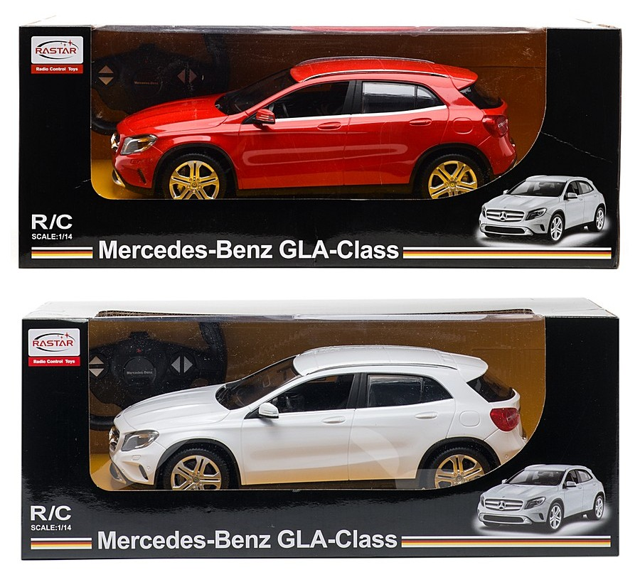 Машина р/у Mercedes-Benz GLA (на бат., свет), 1:14 фото